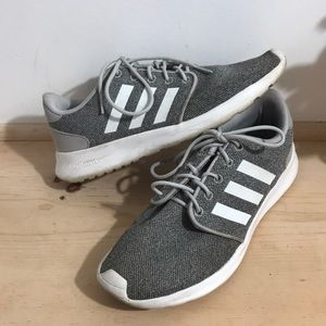 Adidas women Sneaker Shoes Size 8 Gray